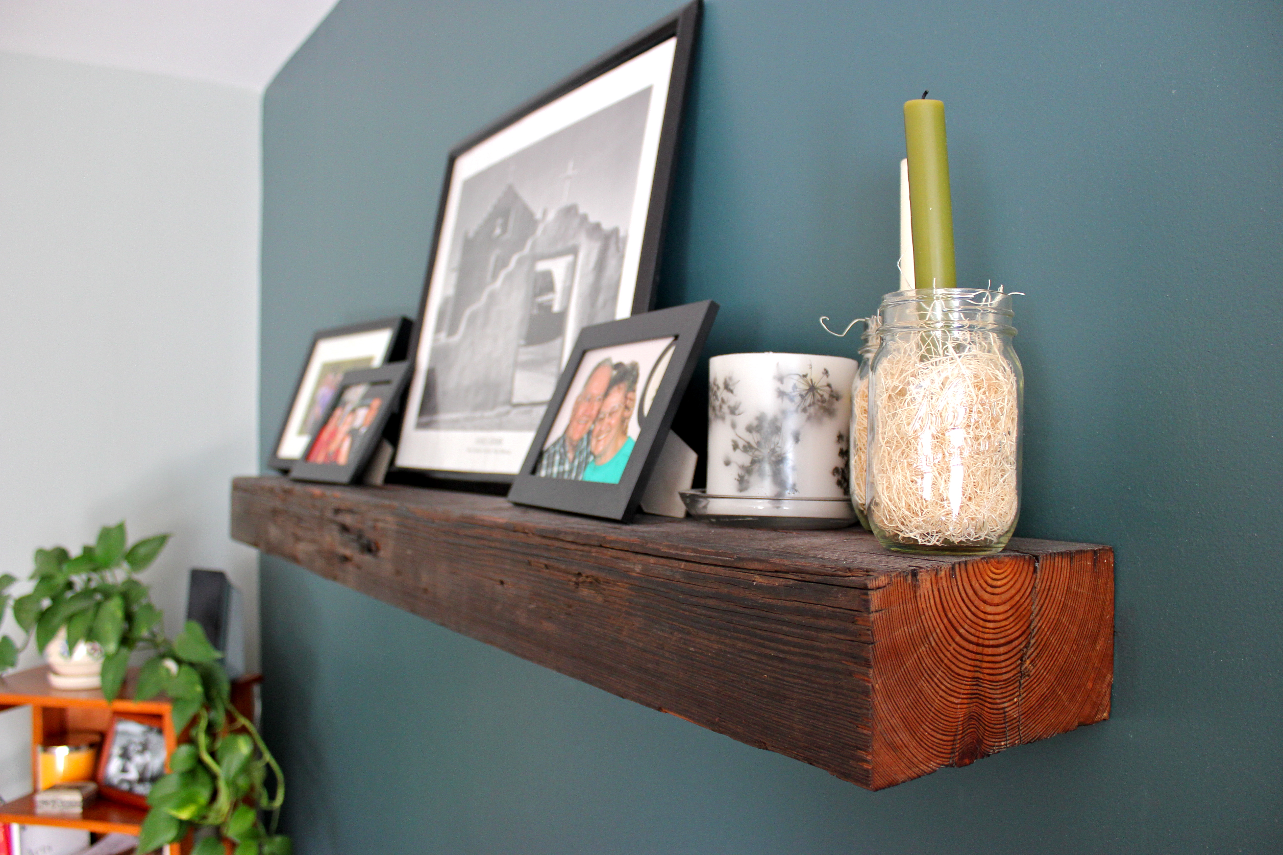 reclaimed wood floating mantels from acacia to zelkova