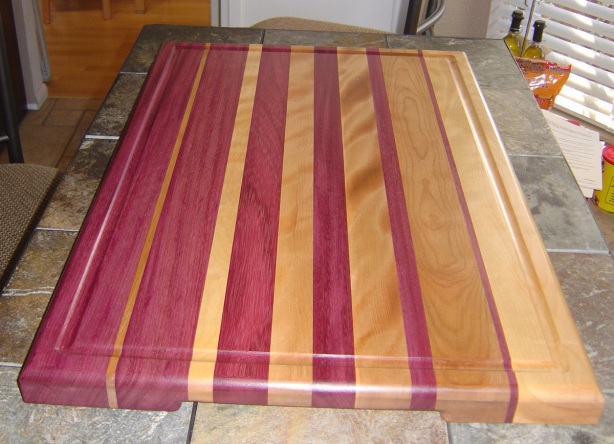 DIY Wood Cutting Boards Free Designs PDF Download laminated wood ...