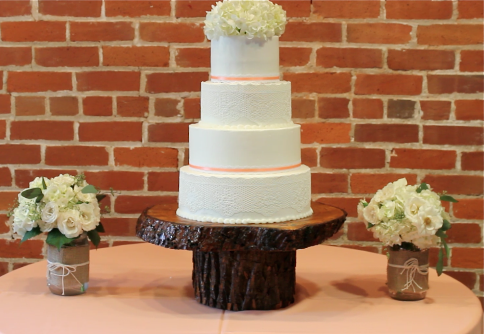 Wood Tree Slab Wedding Centerpieces From Acacia To Zelkova